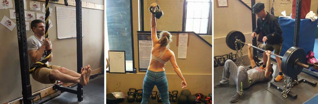 strength training photos