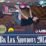 big lick showdown poster